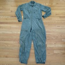 VINTAGE ORIGINAL USAF K-2B K2B LIGHT COVERALL SUIT FLYING SMALL 1962 MIL-S-62650