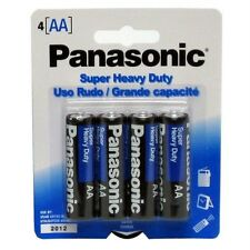 16 AA Panasonic Super Heavy Duty Batteries - 4 x 4 packs