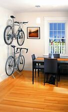 Two Bike Gravity Stand Bicycle Storage Rack Wall Mount Home Garage Apartment TMS