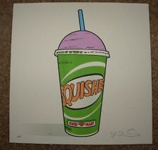 THE SIMPSONS poster print SQUISHEE Kwik-E-Mart fictional food Joshua Budich