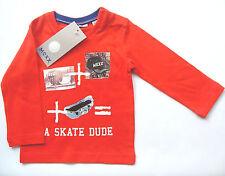 LA Shirt Skater Gr.74 Mexx NEU m.E 100% Baumwolle rot