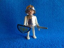 Playmobil Caballero antiguo blanco manos fijas - Knight vintage white fix hands