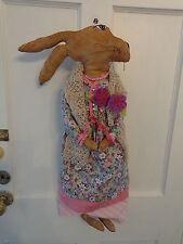 Primitive Bunny Door/Wall Hanging #4
