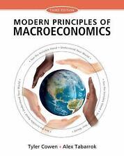 COMPLIMENTARY - Modern Principles of Macroeconomics, Cowen and Tabarrok 2014