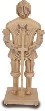 White knight 3D puzzle/construction kit fabriqué à partir de écologique fsc bois P315