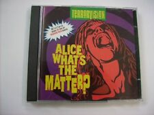 TERRORVISION - ALICE WHAT'S THE MATTER? (CD1) - CD SINGLE EXCELLENT CONDITION