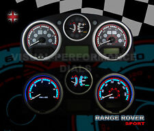 Range Rover Sport diesel interior custom dash speedo lighting panel upgrade kit