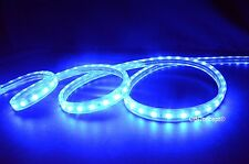 UL Listed,164 Feet,BLUE,Dimmable,Super Bright 45000 Lumen 120V Flat LED Strip