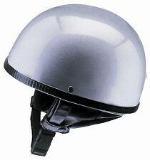 Helm  Redbike RB-500 Halbschalenhelm silber Gr. M