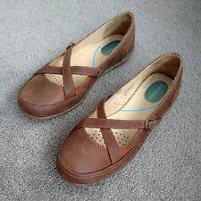 Hush Puppies Blanco brown leather womens shoes size UK 6 EUR 39 NEW in box