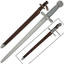 Medieval Middle Ages Fencing Carbon Steel Knightly Dagger Style Knife
