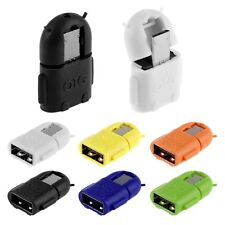 ADAPTADOR ROBOT MICRO USB OTG ON THE GO 2.0 PARA SAMSUNG S3 S4 Móviles Y TABLETS