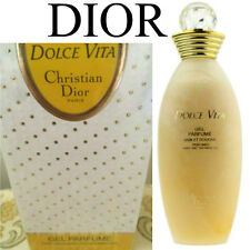 100%AUTHENTIC RARE DIOR VINTAGE Dolce Vita PERFUMED BATH&SHOWER GEL DISCONTINUED