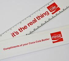 COCA COLA COKE righello USA-IT 's The Real Thing Ruler 1970