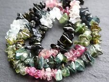 "TOURMALINE CHIPS, approx 4x5mm, 15"", 160+ beads"