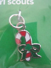 NEW Girl Scout Candy Cane Charm - for pendant or bracelet Multi Gift NWT