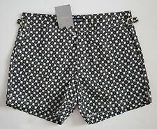 NWT TOM FORD Geometric Print Swim Trunks Shorts Swimsuit Beachwear IT-48 US-32