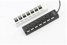 Terabyte 7 Ports USB 3.0/2.0 Hi-Speed Usb Hub With Individual On/Off Switches