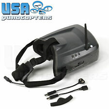 "Quanum Cyclops 5.8G FPV Goggles with 5"" Screen Built-In Receiver Adjustable"