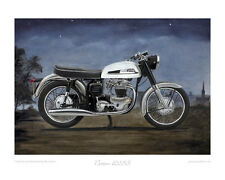 "Norton Dominator 650SS - Limited Edition Collectors Print (of 50 only) 20""x16"""