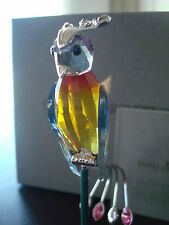 Swarovski Crystal Paradise Banamba Bird BRAND NEW Ultra-RARE RETIRED 284064 MINT