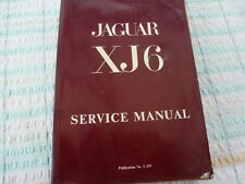 Jaguar XJ6 Service Manual - British Leyland - Publication No. E.155/3 -
