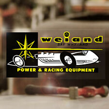 """Weiand Power Racing sticker decal old school drag racing hot rod 5.25"""""""