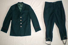 Vintage Soviet Russian Military Army Uniform Suit Officer Jacket Pants USSR CCCP