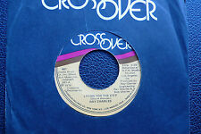 "7"" Ray Charles - Living For The City - US Cross Over"