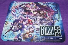 Blizzcon 2014 SIGNED Steelseries Rare Hard to Find Key Art Mouse Pad 12x10.5