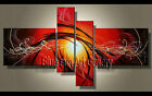 Large MODERN ABSTRACT OIL PAINTING art Canvas Contemporary Wall Art Framed L2101
