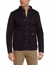 G-Star Raw Mens Faeroes 83621C Slim Denim Jacket Dark Blue Small RRP £250