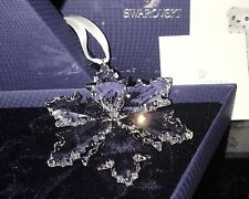 Swarovski Crystal 2014 Annual Christmas LARGE Snowflake Star Ornament