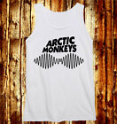 Arctic Monkeys Logo Radio Wave Alex Turner Death Ramps White MEN Women Tank Vest