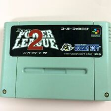Super POWER LEAGUE 2 SHVC-Z4 Nintendo Super Famicom Japanese Game USED