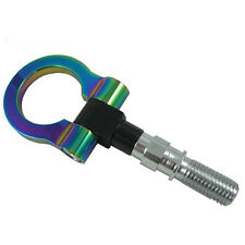NEO CHROME T2 JAPAN MODEL CAR RACING SCREW ALUMINUM CNC TOW TOWING HOOK RACE