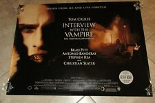 Interview With The Vampire movie poster - Tom Cruise poster - original uk quad