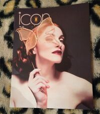 "Madonna ""icon"" official fan club magazine no 31 From 1999 Very Rare Queen Of Pop"
