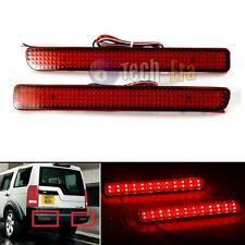 2x Red Len LED Bumper Reflector Brake Stop Light Range Rover Sport Discovery 3 4