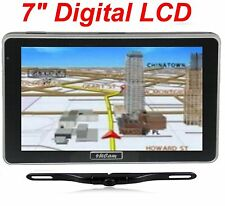 "7"" GPS Navigation Wireless Backup Camera Bluetooth FM NEW USA fast shipping NEW!"