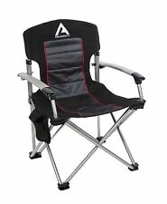 ARB Air Locker Camping Chair with Storage Bag Universal 10500110 Black