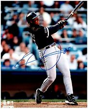 Chicago White Sox FRANK THOMAS Signed Autographed 8x10 Pic.