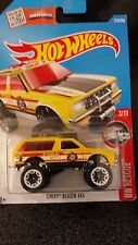 hot wheels Chevy Blazer 4x4 Yellow