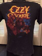 Ozzy Osbourne 83 Bark At The Moon Shirt Sz S/M Rock Metal Prince of Darkness