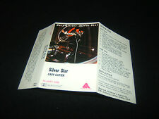 GARY GLITTER SILVER STAR AUSTRALIAN CASSETTE TAPE Unused Inlay Card Only 1977