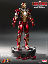 "鐵甲奇俠破心者hottoys Hot Toys Marvel Sideshow IRONMAN IRON MAN 3 MMS212 Mark XVII Mark 17 Heart Breaker 1/6 12"" Action Figure free ship"