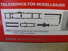 1/87 Herpa Abrollkinematik für alle LKW-Fahrgestelle Inhalt: 2 Stück 084314