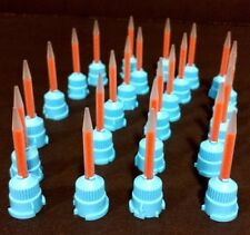 Defend T-Style C&B10:1/ 4:1 Ratio Mixpac Blue and Orange 50 Mixing Tips VP-8108T