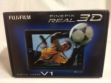 NEW FUJIFILM 3D Viewer FinePix REAL Black F FX-3D V1 EMS from JAPAN