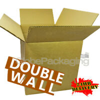"""10 XX-LARGE DOUBLE WALL Moving Cardboard Boxes 30x20x20"""""""